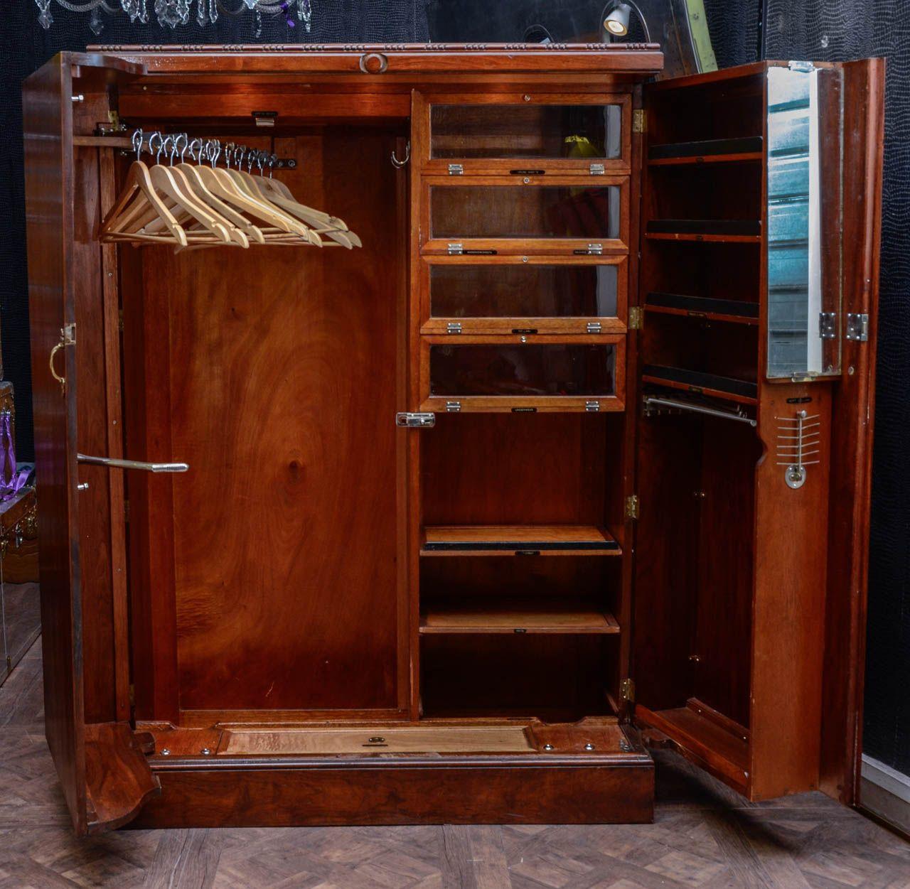 1930 S Compactom Walnut Steamer Trunk Steamer Trunk Apartment Storage Trunks