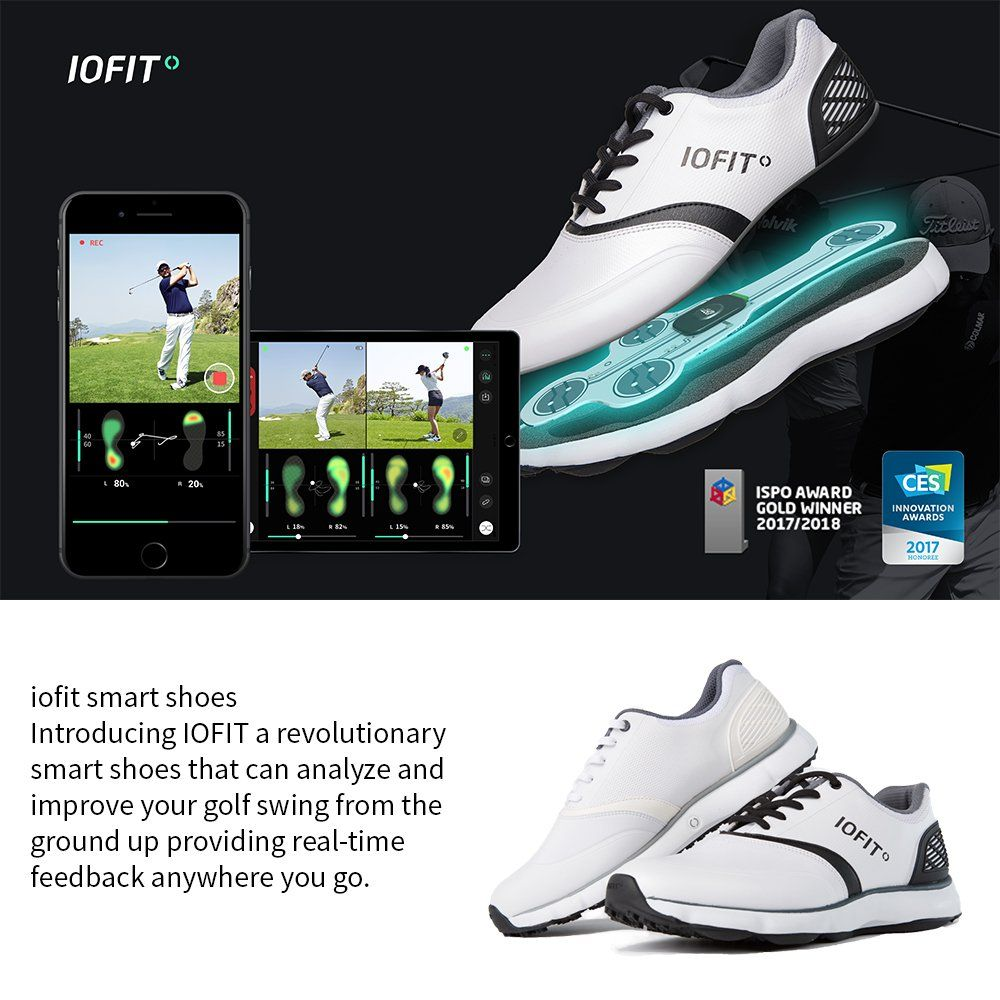 Iofit golf shoes for women smart technology features