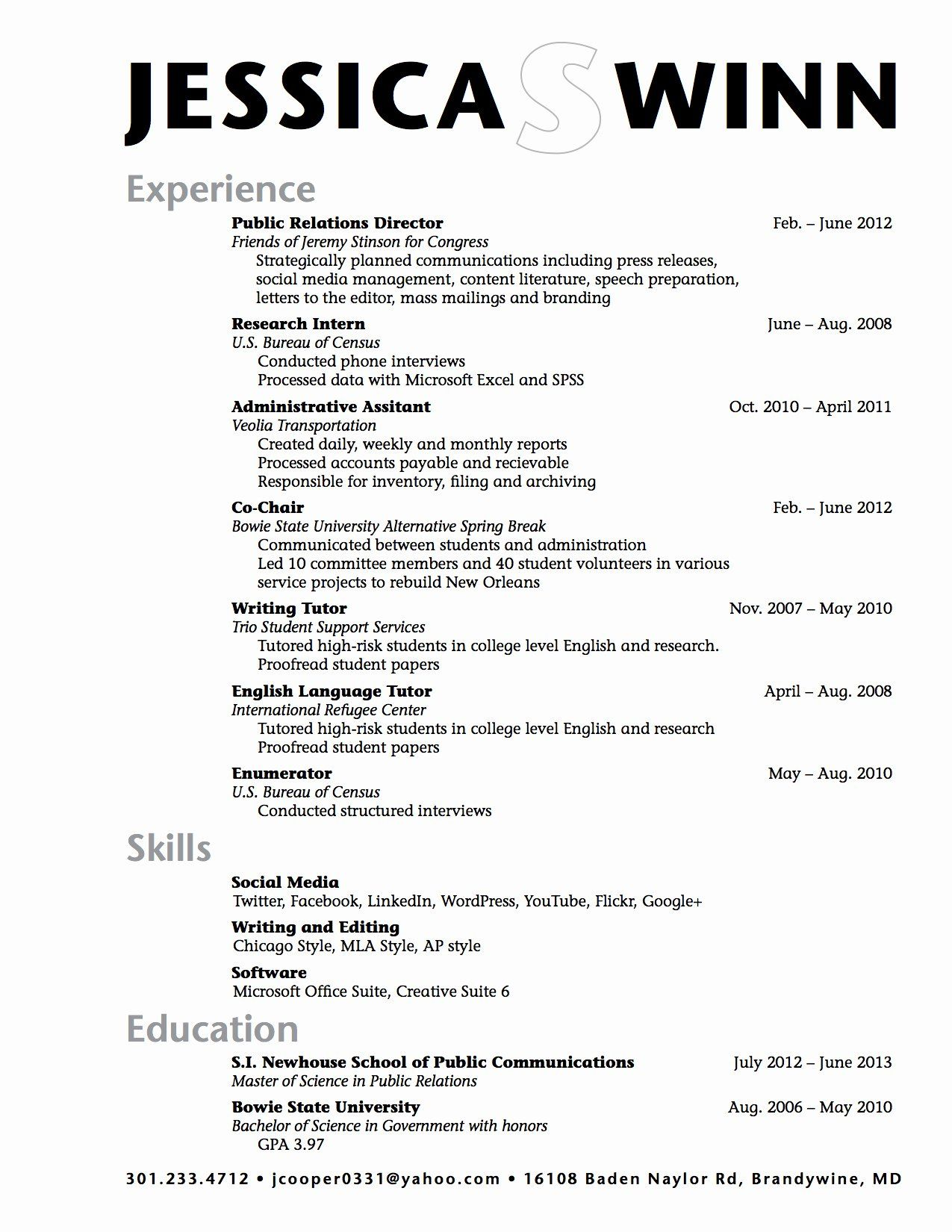 Resume High School Student Inspirational High School