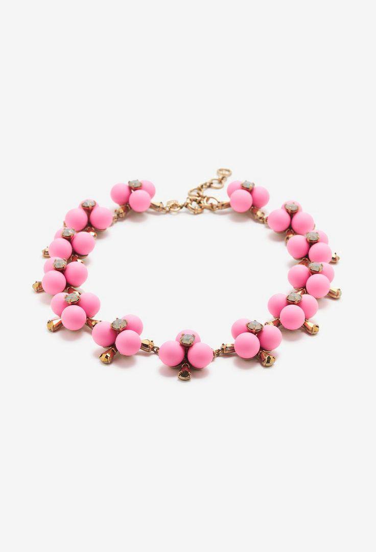 Pop flower necklace