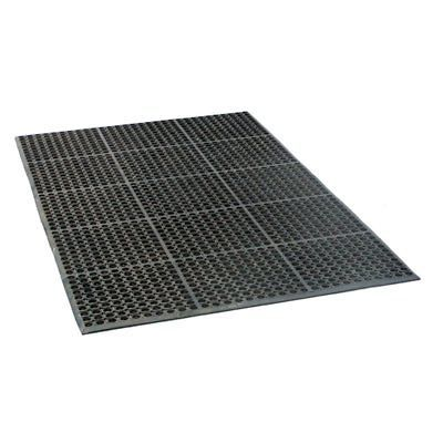 Garage Door Parts And Accs 179687: Industrial Rubber Floor Mat 3 Ft. X 5