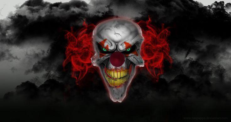 Killer Clowns Wallpaper
