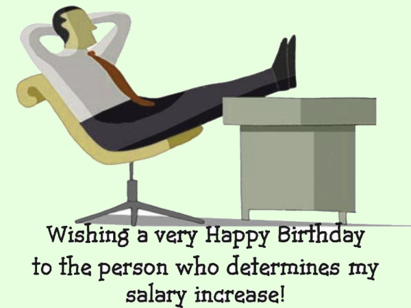 Professional Birthday Wishes for your Boss to make them