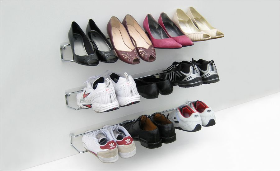 Wall Shoe Rack Part - 19: WIRED Shoe Rack