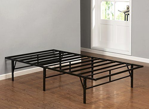 Kings Brand Furniture Platform Bed Frame Mattress Foundation   Box Spring  Replacement  Twin. Kings Brand Furniture Platform Bed Frame Mattress Foundation   Box