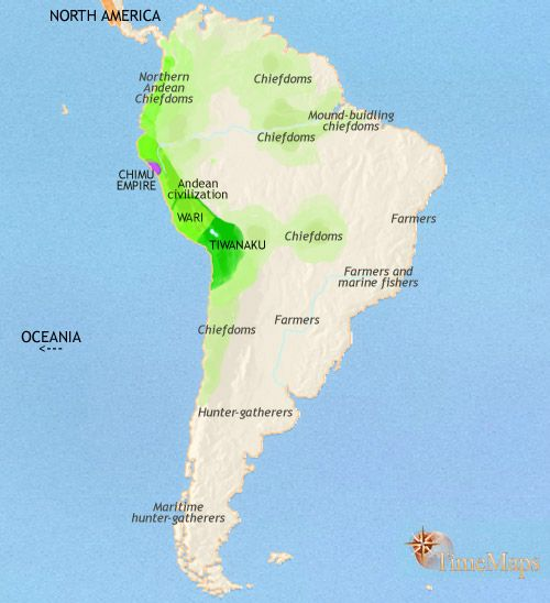 Inca empire on Interactive History Map from TimeMaps Inca for Kids - best of world history map program