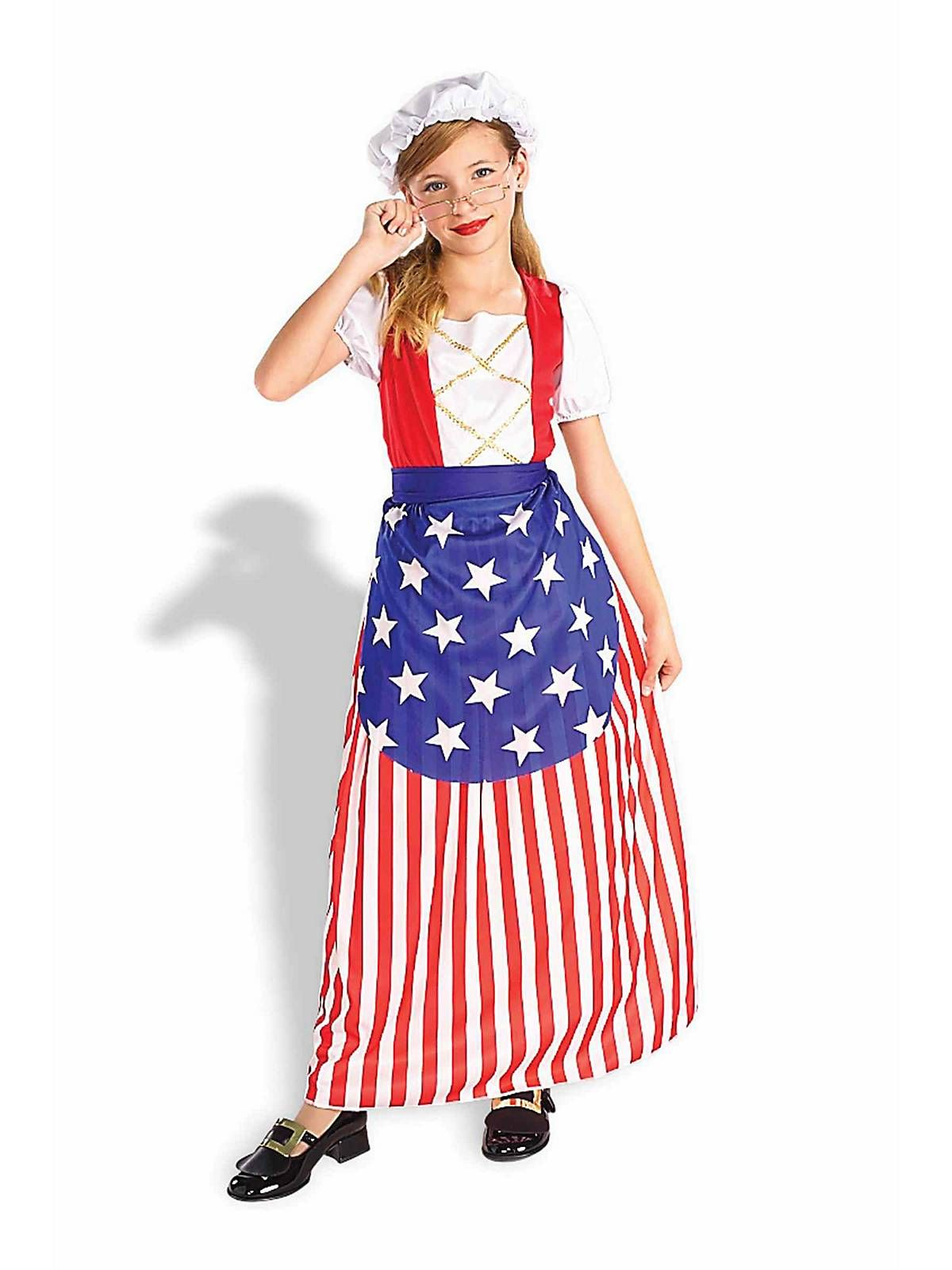 Betsy Ross Child Costume | Wholesale Historical Costumes for Girls