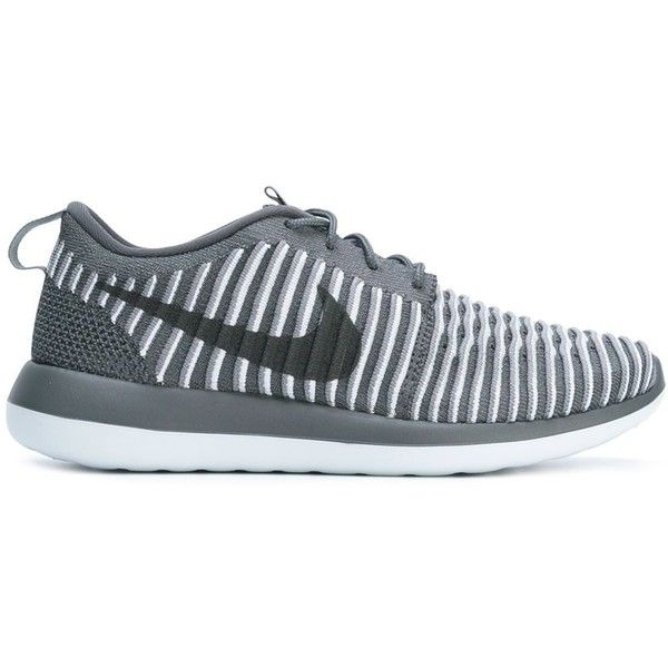 Mejor Jane Austen tetraedro  Nike 'Roshe Two Flyknit' sneakers featuring polyvore, women's fashion, shoes,  sneakers, round toe sneakers, lac… | Nike roshe two, White nike shoes, Mens nike  shoes