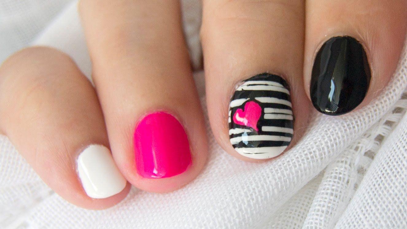 Diseños de uñas cortas ¡14 Ideas con Foto!