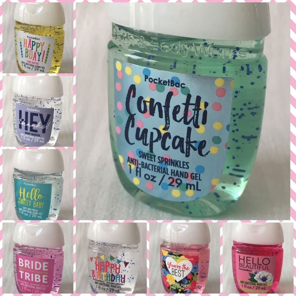 Bath And Body Works Celebration Collection Pocketbac Hand