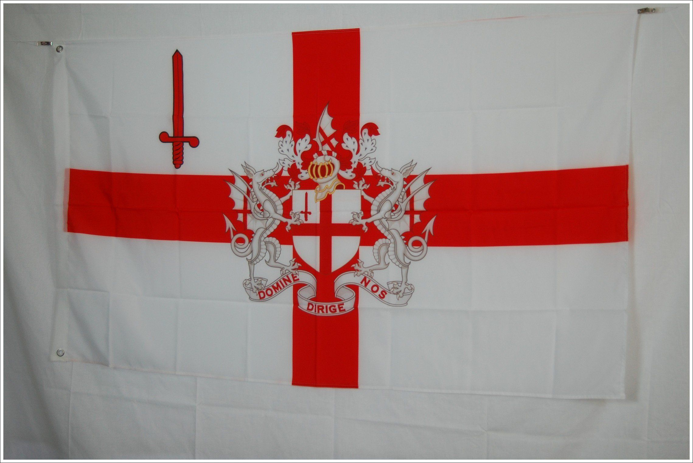 London City Flag With Coat Of Arms
