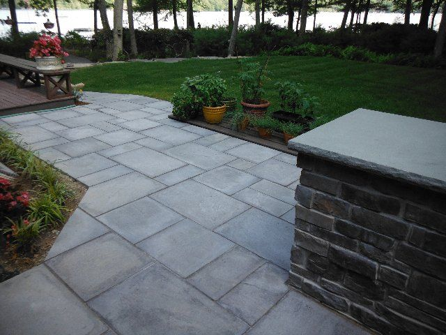concrete pavers and retaining wall | General Pavingstones Pavers Patios Retaining walls Walkways Driveways ...