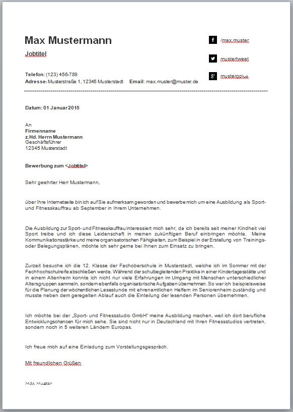 Bewerbungsvorlagen Und Muster Meinebewerbung Net Bewerbung Schreiben Bewerbungsschreiben Bewerbung