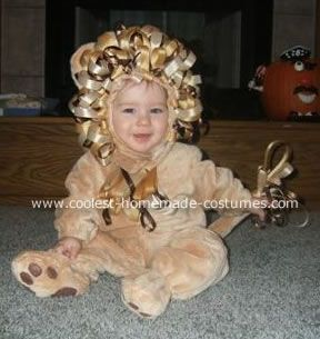 Luke The Baby Lion Costume Luke Is An 8 Month Old Living In Wichita Ks He Has Been Crawling For 2 Months Now And Has Quite The Cute Growl That Was
