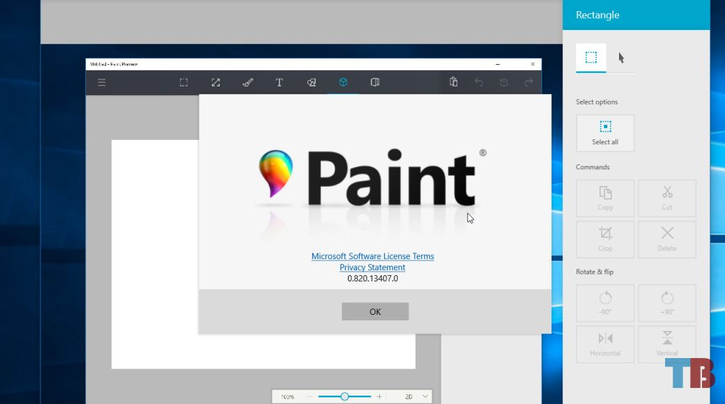 Microsoft S Redesigned Paint App For Windows 10 Microsoft