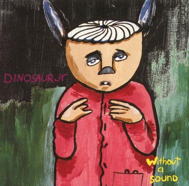 Acrylic Brushy Effects Dinosaur Jr Album Cover Dinosaur Jr Vinyl Dinosaur