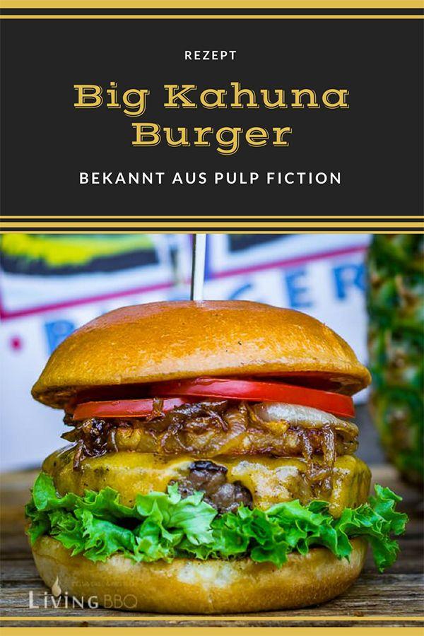 Der Big Kahuna Burger aus Quentin Tarantino's Kultfilm Pulp Fiction, dürfte zu den berühmtesten Burgern Rezepte der Filmgeschichte gehören. Ich weiß nicht wie es dir geht, aber Burger könnte ich sozusagen zu jeder Tag und Nachtzeit essen. Einzige Voraussetzung ist, dass es sich um einen selbst gemachten, richtig guten Burger handelt! Wie zum Beispiel mein Big Kahuna Burger! (Anzeige) #burgerrezept #burgergrillen #hawaiianfoodrecipes