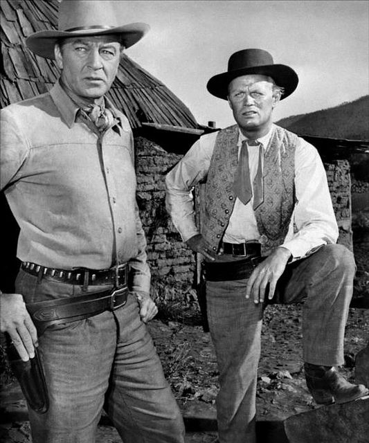 Gary Cooper And Richard Widmark Gary Cooper Movie Stars