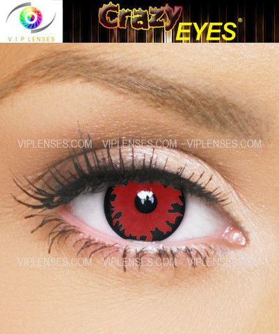 Bloodlust contacts for Vampires at Halloween