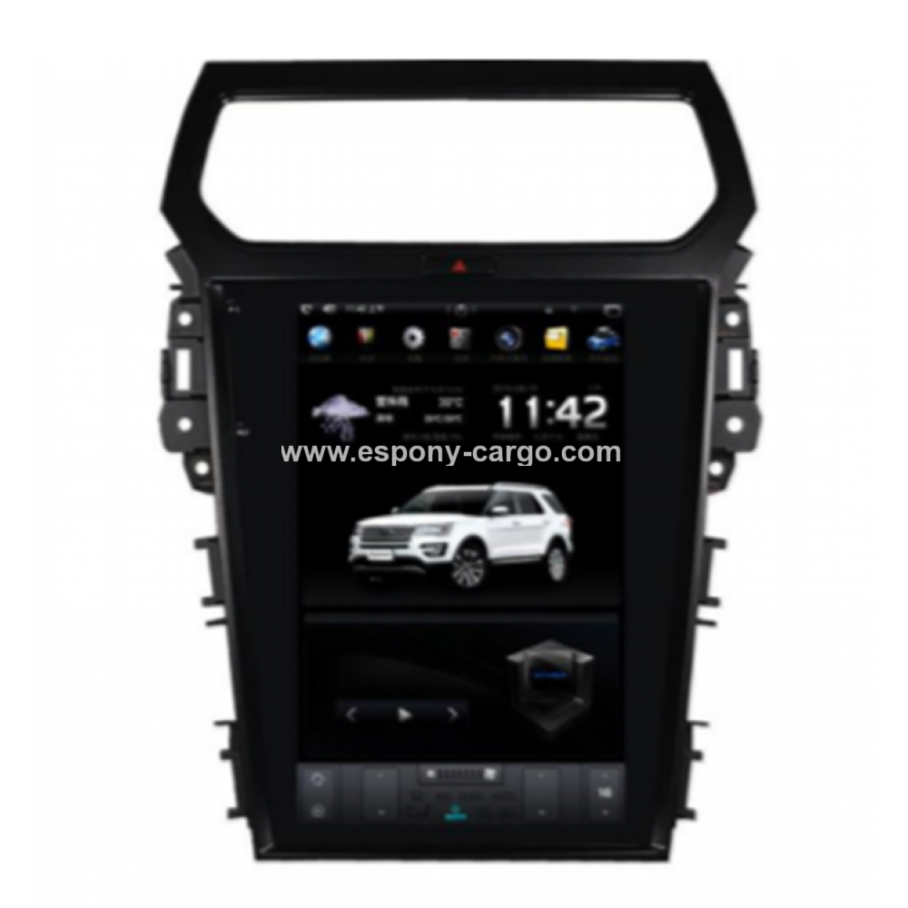 12 1 Tesla Style Android Navigation Radio For Ford Explorer 2011 2012 2013 2014 2015 2016 2017 Ford Explorer Android Navigation Tesla