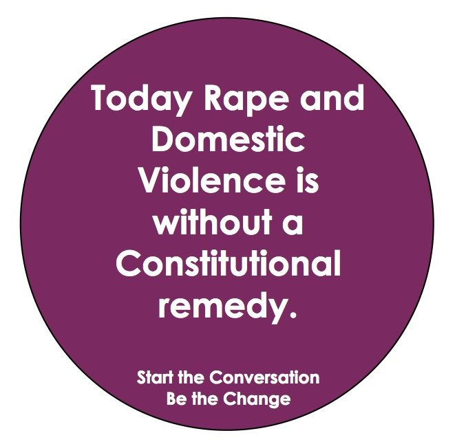 Under The Constitution There Is No Remedy For Women Regarding