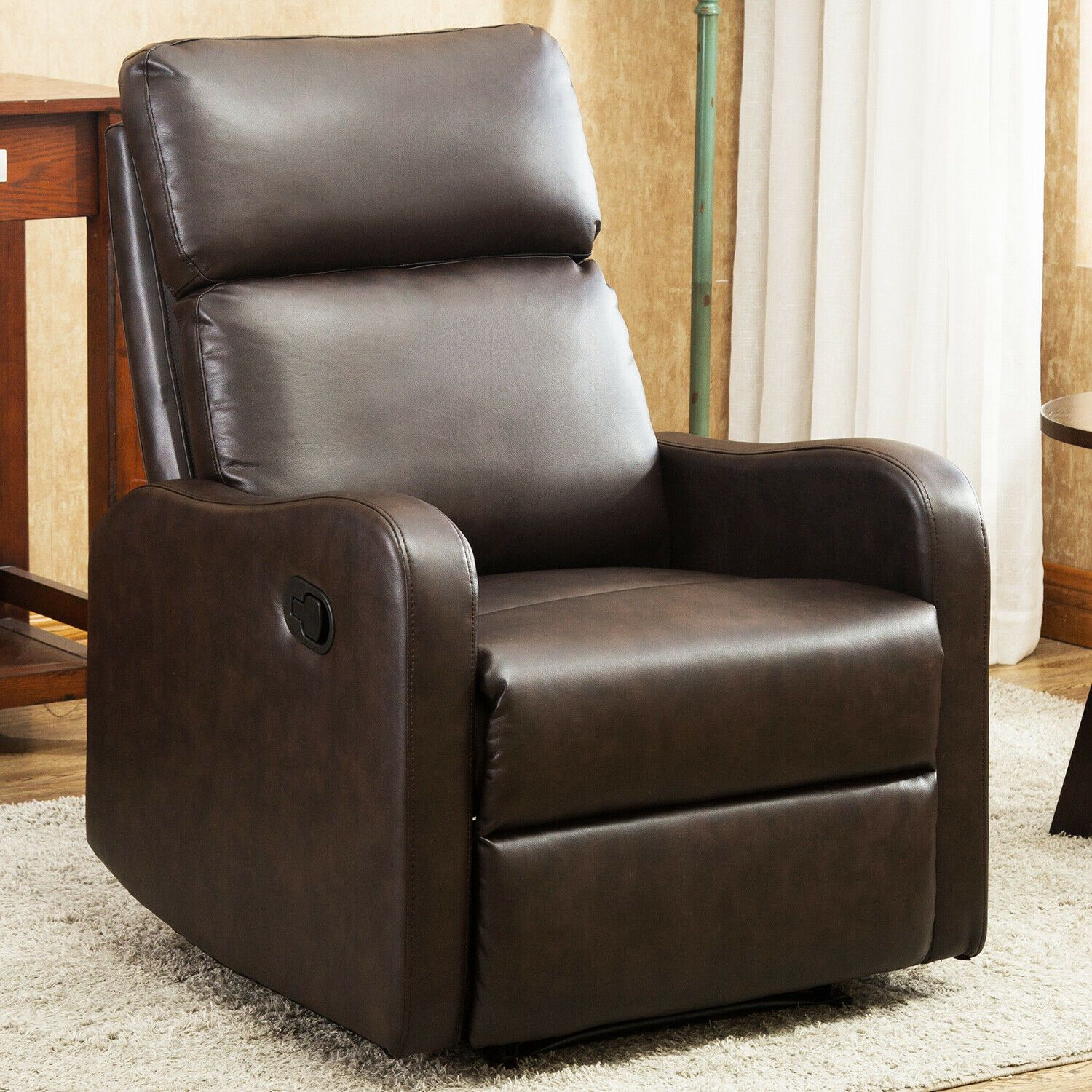 Recliner Sofa Armrest Chair Lazy Living Boy Room Reclining