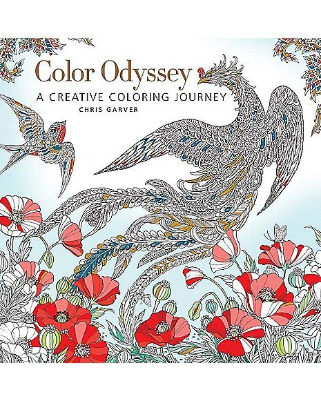 Color Odyssey Coloring Book