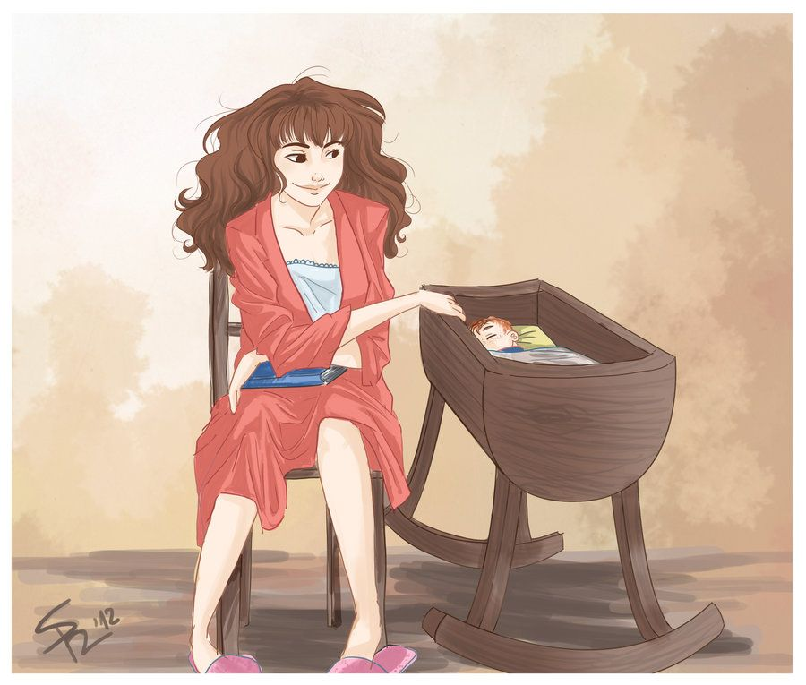 Hermione and Rosy by ~MaDe-WhIt-LoVe on deviantART