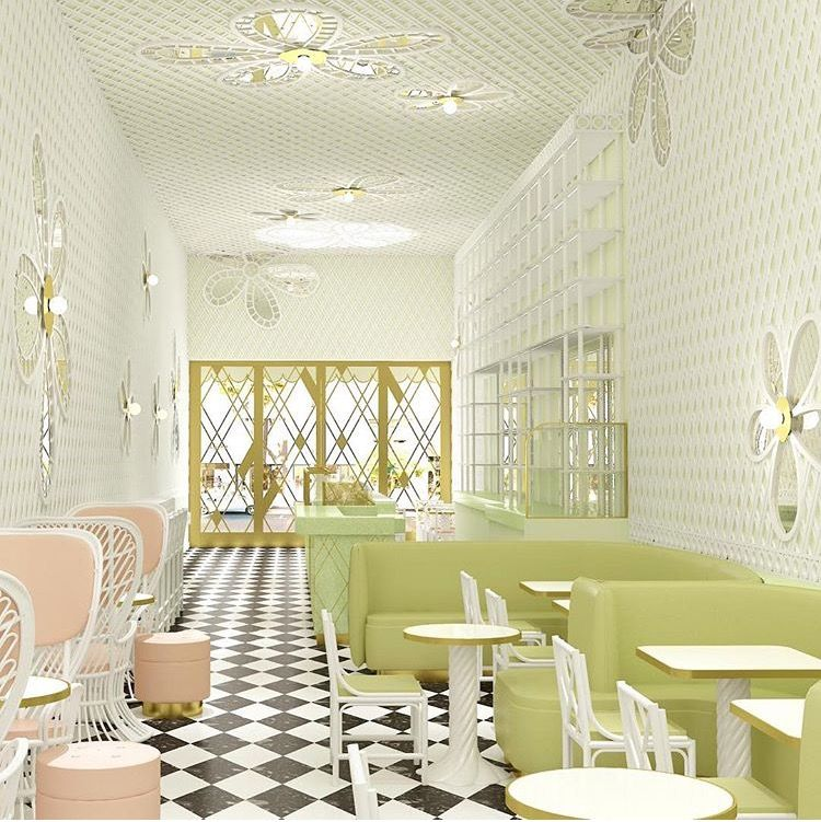 Laduree Beverly Hills By India Mahdavi