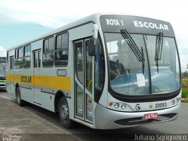 Viação Piracema de Transportes 20093 em Piracicaba-SP ônibus Furtado dia 02/09/2015