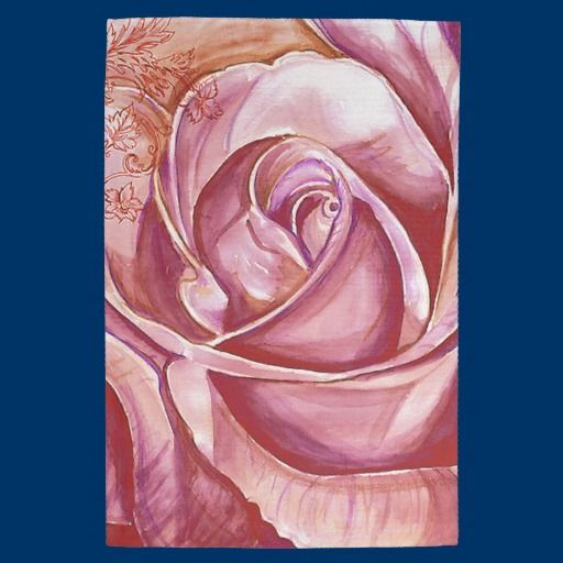 A Rose 3 Hand Towels