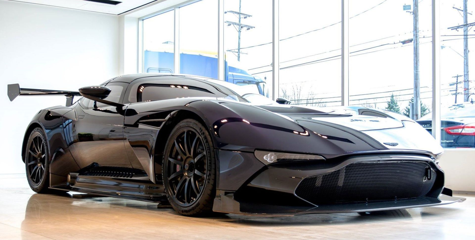 The Mighty 7 0 Liter V12 From The Aston Martin Vulcan Hypercar Is One Which Is All About Business When It Comes To Aston Martin Vulcan Aston Martin Super Cars