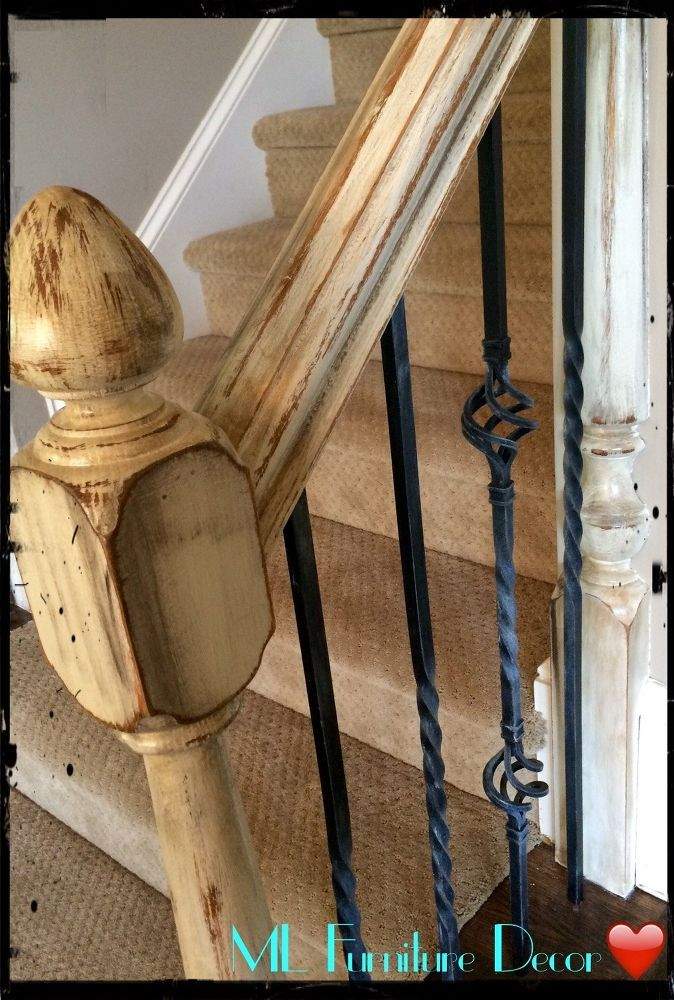 Best Refinishing Staircase Banisters A Complete Makeover 640 x 480