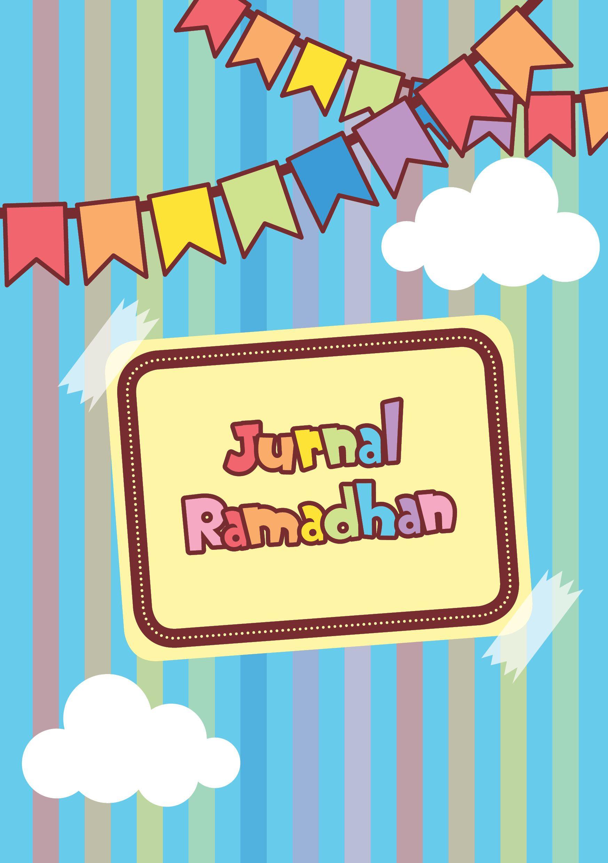 Bosan dengan tampilan buku ramadhan yang begitu begitu saja sekarang telah hadir jurnal ramadhan