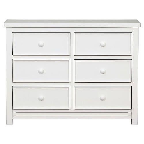 Delta Bennington 6 Drawer Double Dresser White Ambiance 6 Drawer Dresser Dresser Double Dresser