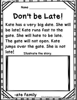 Fluency passages for early readers! These passages focus