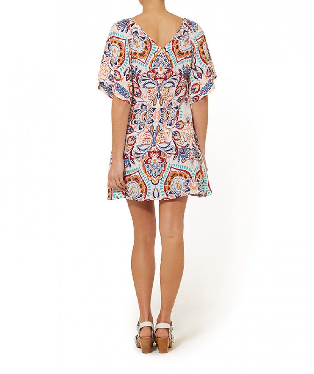 Desert Tribes - Desert Tribes Kimono Dress - Clothing - Sportsgirl