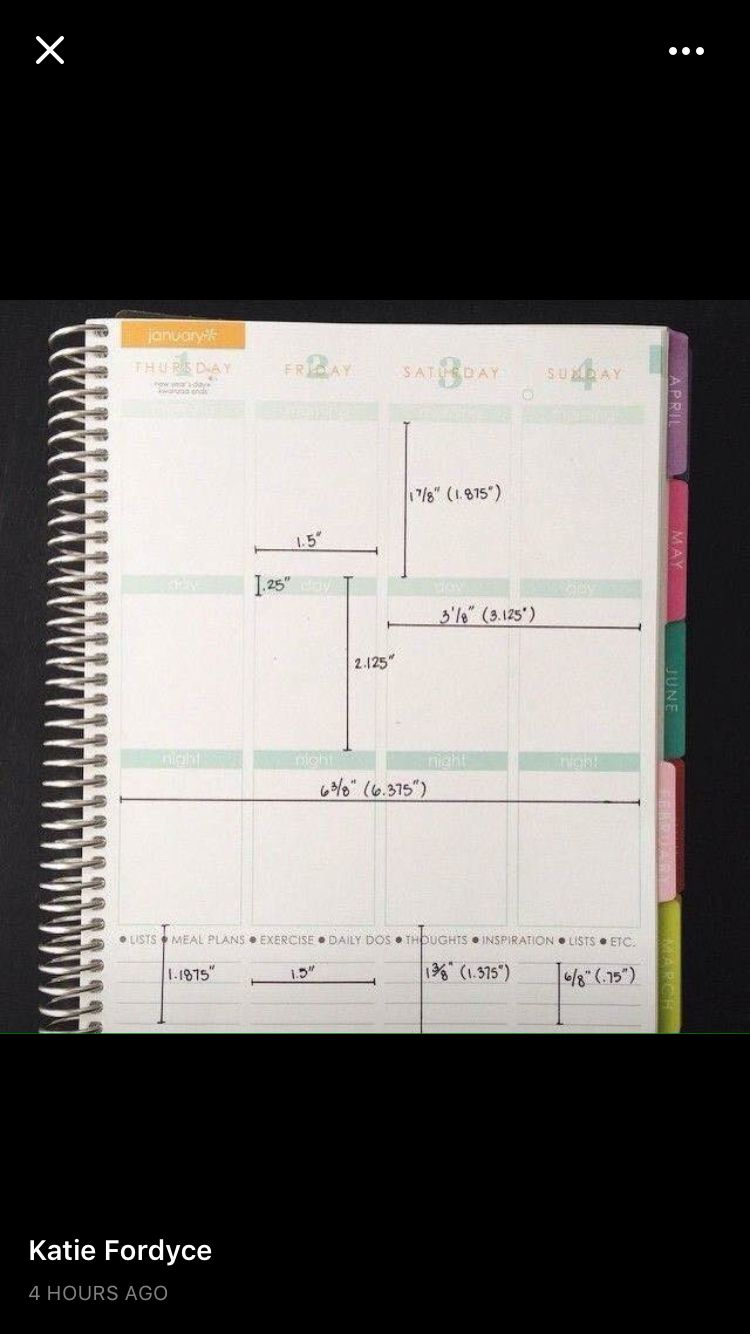 Box dimensions | Plum Paper Planner | Pinterest | Happy, Planners ...