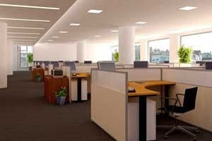 List Of Interior Decorators In Delhi Ncr India Office Space Decor Office Space Design Cubicle Design