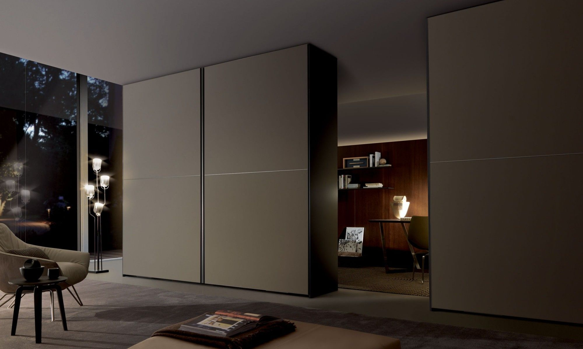 The Evocative Transparency Of Glass The Playful Reflexions Of  # Giellesse Muebles