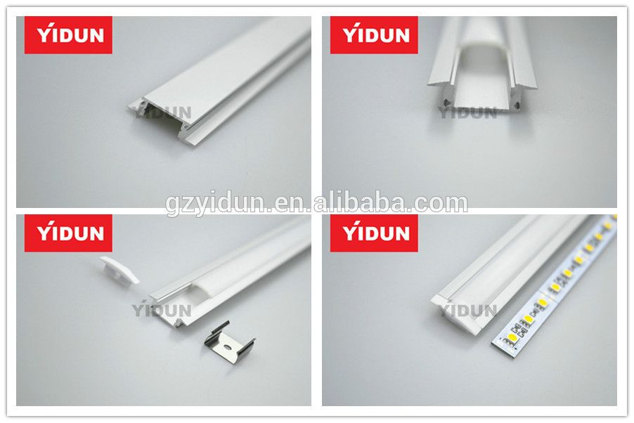 Yidun Lighting Customized 1m 2m 3m Aluminum Profile Led Strip Light Led Bar Light View Aluminum Profile Led Strip Light Yidun Product Details From Guangzhou Led Strip Lighting Led Light Bars Strip