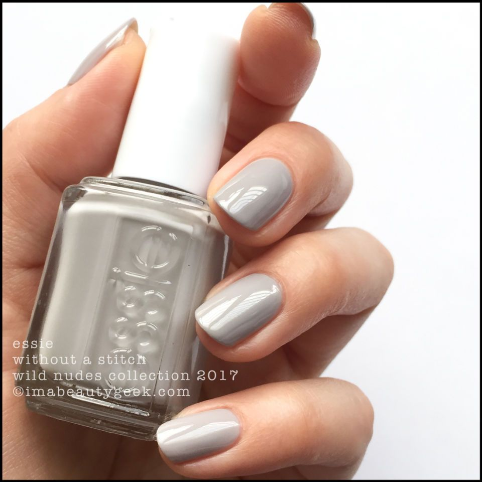 Nail Polish Colors Essie: ESSIE WILD NUDES SWATCHES & REVIEW 2017