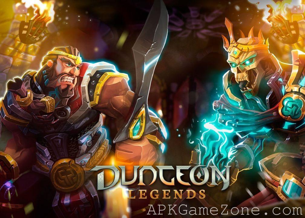 Dungeon Legends RPG MMO Game God Mod Download APK