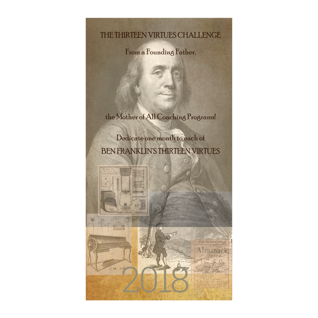 Ben Franklin Virtues Calendar With Quotes