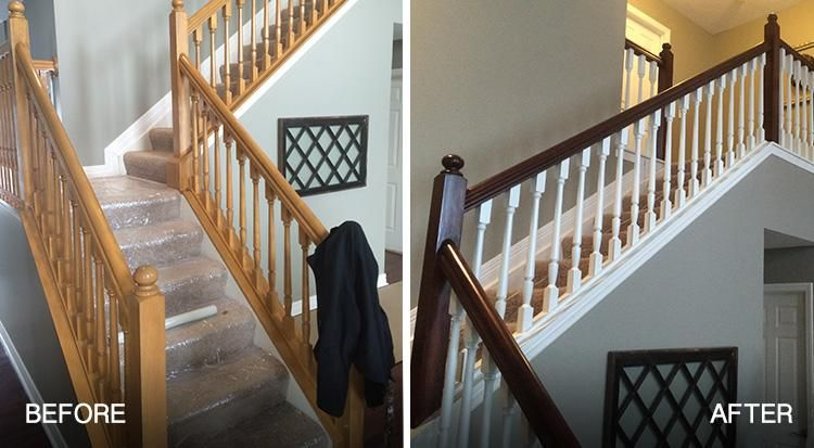 Best Should You Paint Or Stain Stairs And Railings In Your Home 640 x 480