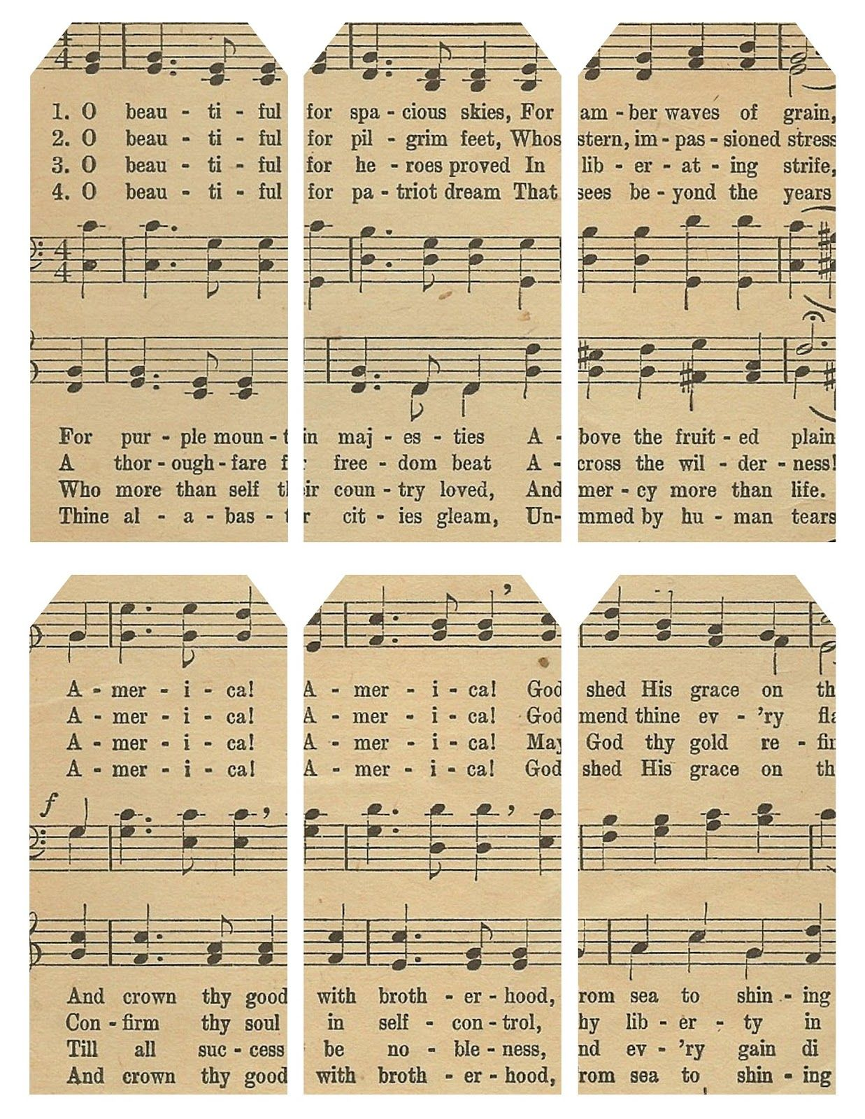 Related image wrapped up pinterest lilacs lavender and free printable sheet of tags featuring lyrics to america the beautiful negle Choice Image