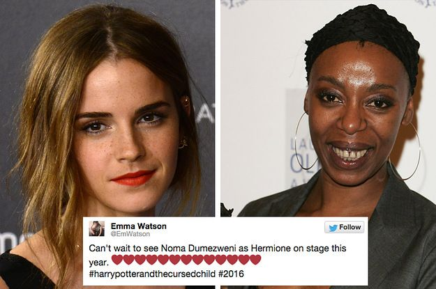 Emma Watson Has Finally Responded To Noma Dumezweni Being Cast As Hermione