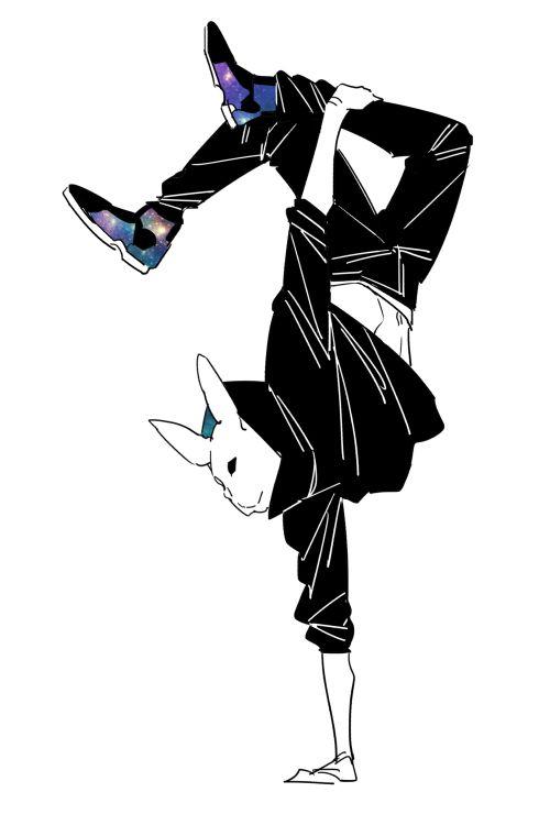 春田 Haruta Comic Writer Graphic Designer かっこいい ポーズ イラスト イラスト ストリート イラスト