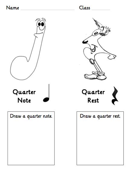 Quarter Note Quarter Rest Beth S Notes Elementary Music Worksheets Elementary Music Music Worksheets