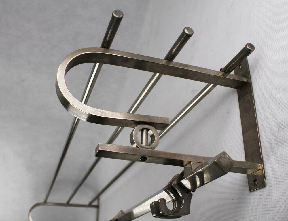 100 Cm Alte Bauhaus Garderobe Art Deco Wandgarderobe Coat